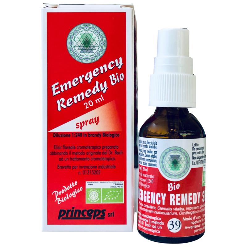 emergency remedy bio spray fiori di Bach