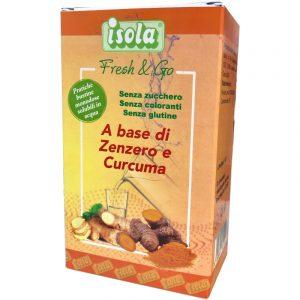 Fresh & Go a Base di Zenzero e Curcuma