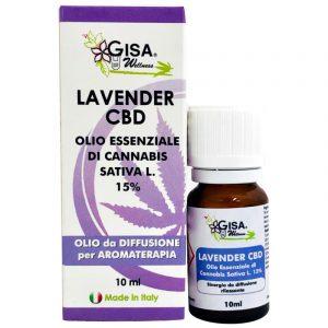 Lavender CBD Olio Essenziale Canapa