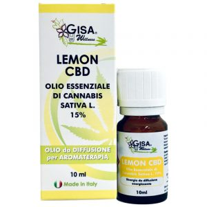 Lemon CBD Olio Essenziale Canapa