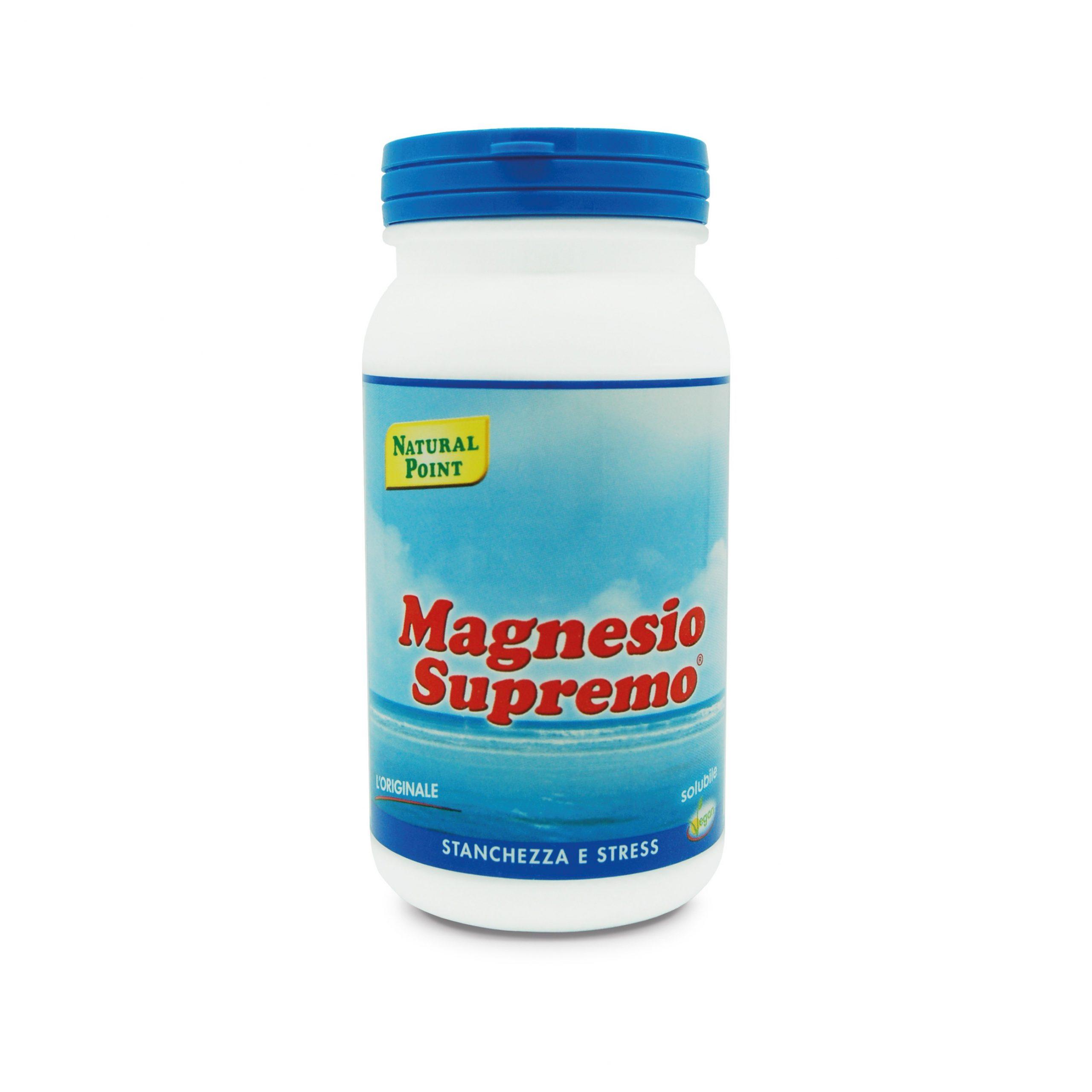 Magnesio Supremo Natural Point 150 grammi