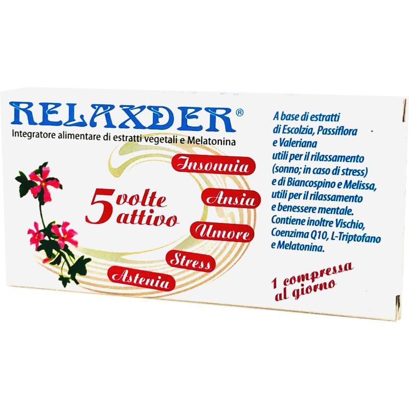 relaxder integratore naturale contro ansia e stress