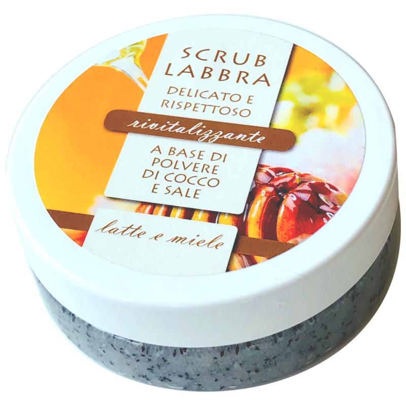 Scrub Labbra rivitalizzante Latte e Miele