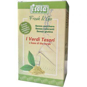 Fresh & Go a base di the verde bevanda rinfrescante e dissetante