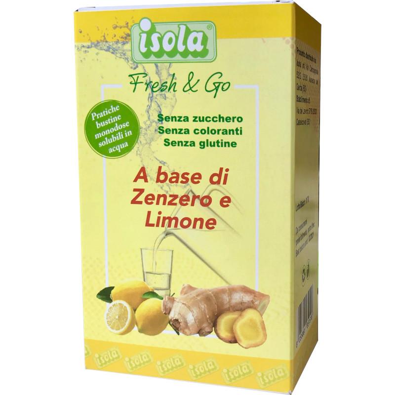 Fresh & Go preparazione bevande Zenzero e limone