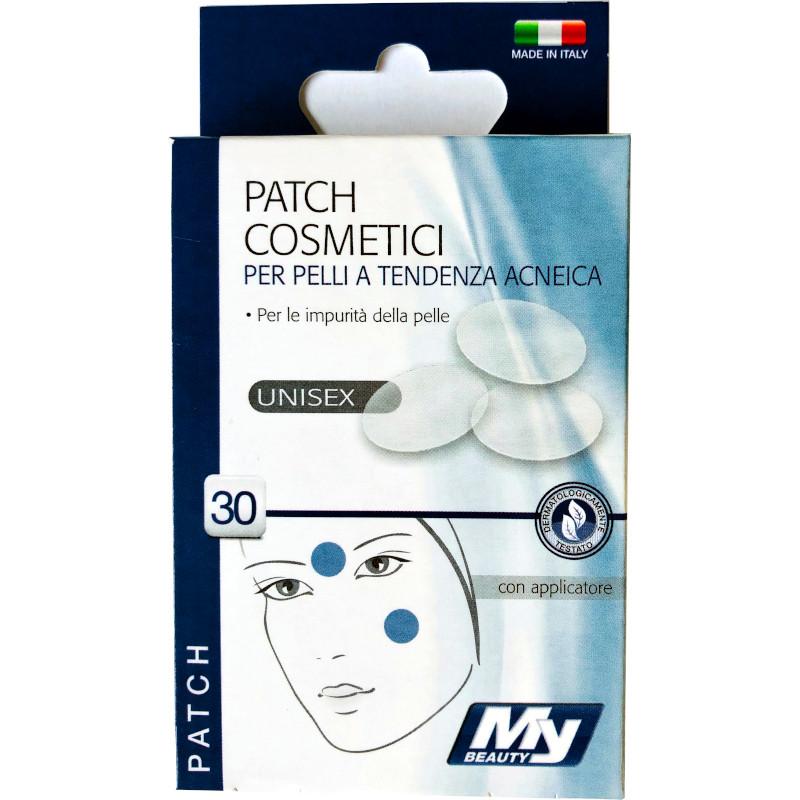 Patch cosmetici per pelli a tendenza acne