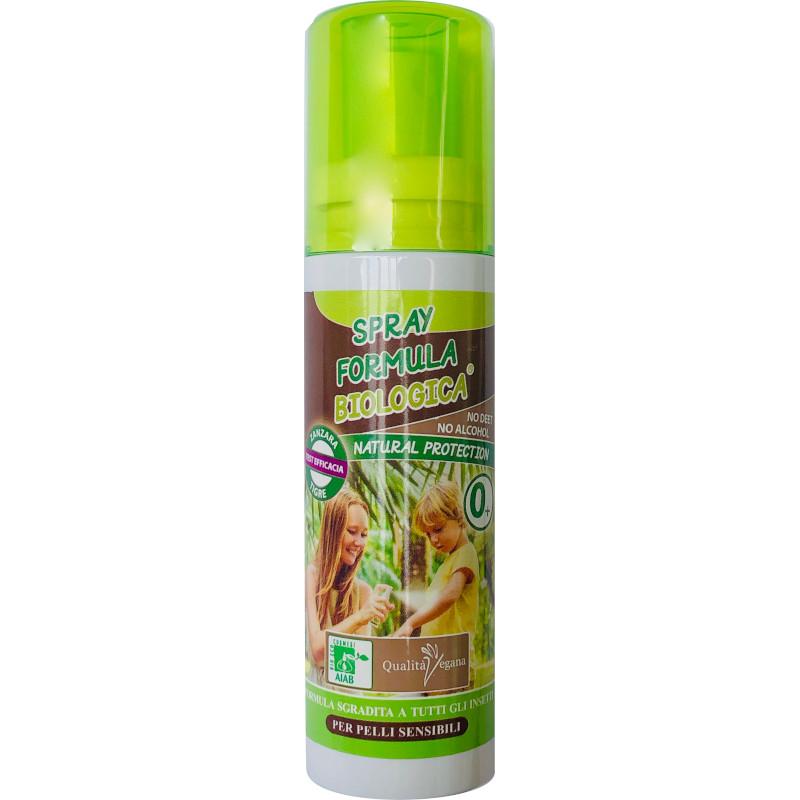 Spray formula biologica antizanzare