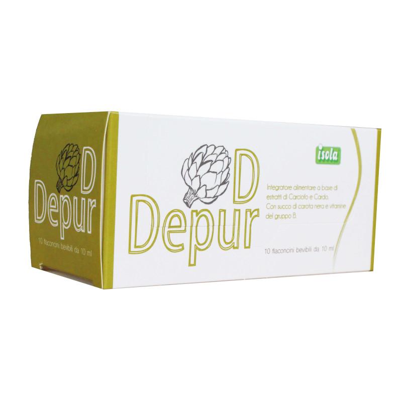 Depur D flaconcini per depurare il fegato