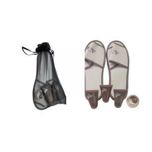 Kit Pantofole Beauty Thermal Uomo
