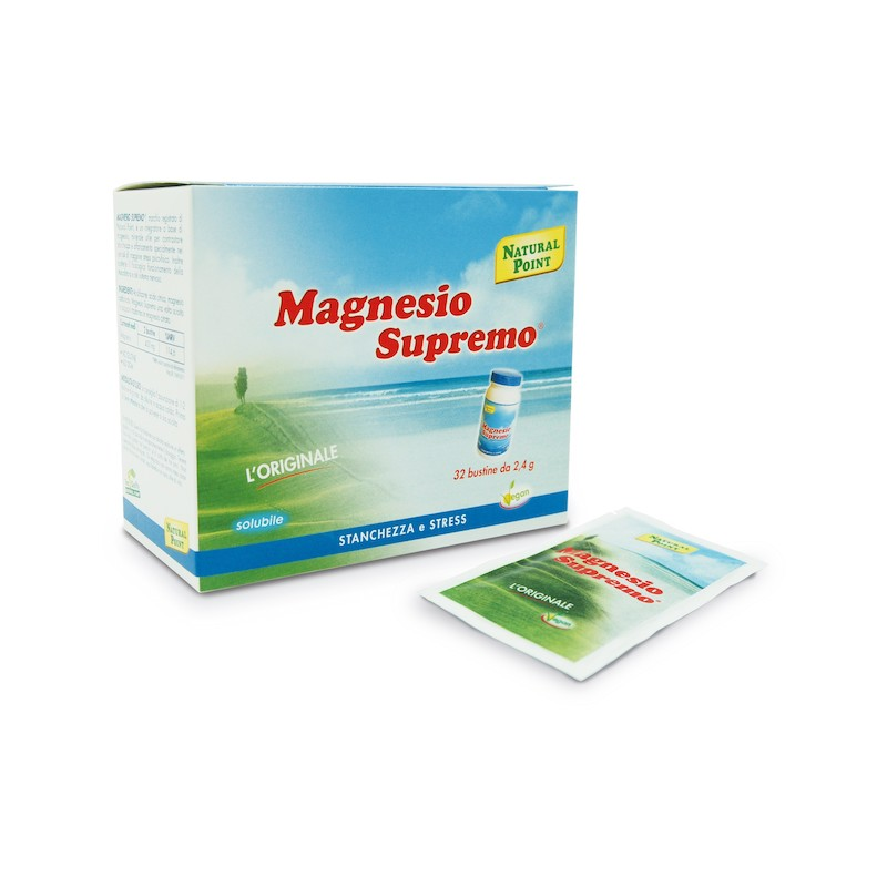Magnesio Supremo Natural Point bustine