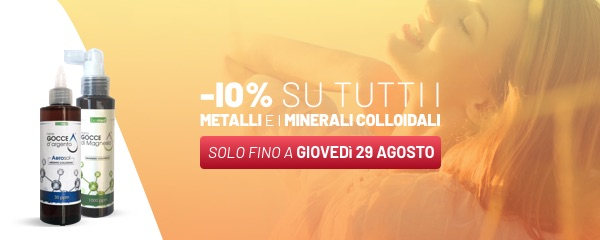 Metalli e Minerali Colloidali