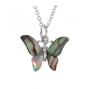 Collana Farfalla Conchiglia di Paua