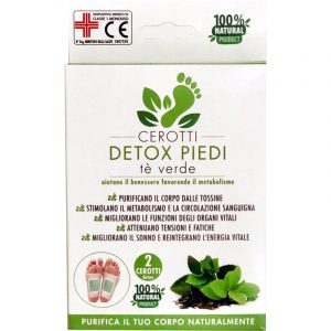 Cerotti Detox Piedi al Tè Verde