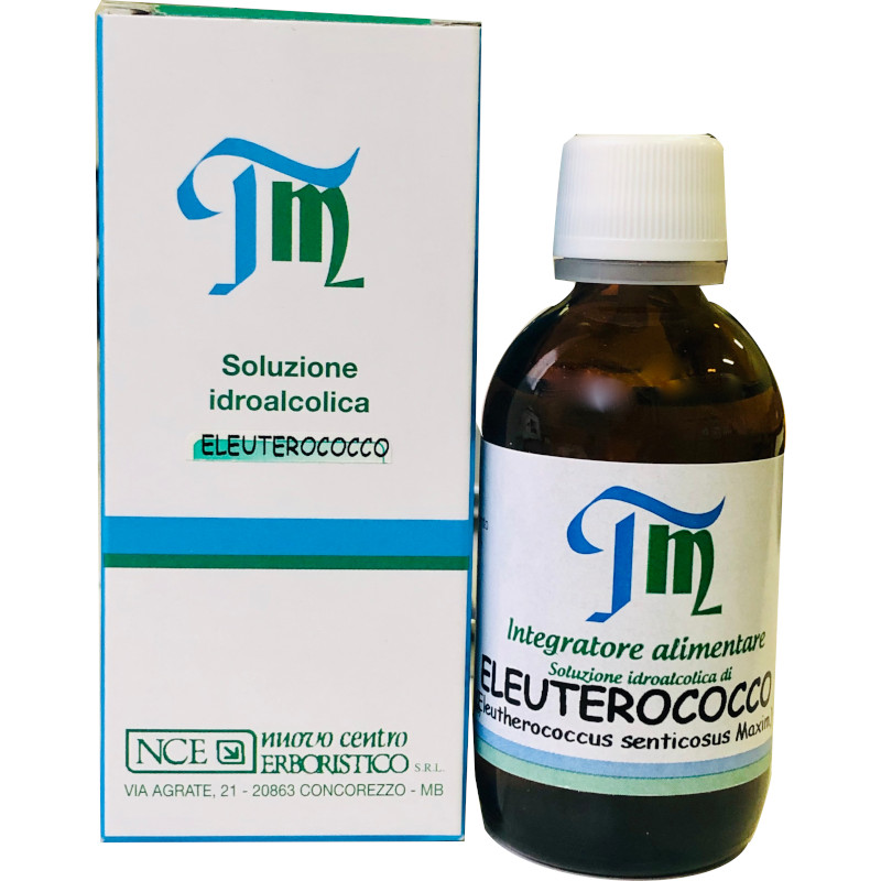 Eleuterococco tintura madre soluzione idroalcolica