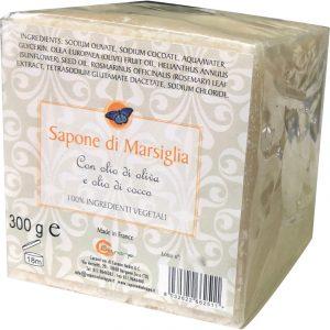 Sapone di Marsiglia con Olio di Oliva e Cocco