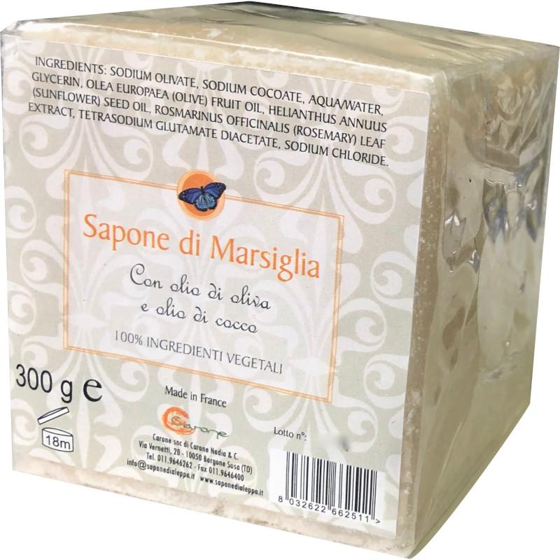Sapone di Marsiglia con Olio di Oliva e Olio di Cocco