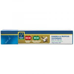Dentifricio Miele di Manuka, Propoli BIO30 e Tea Tree Oil