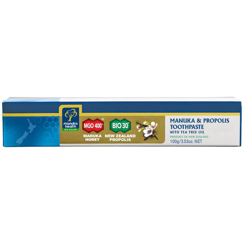 Manuka Health dentifricio miele di Manuka propoli e Tea tree oil