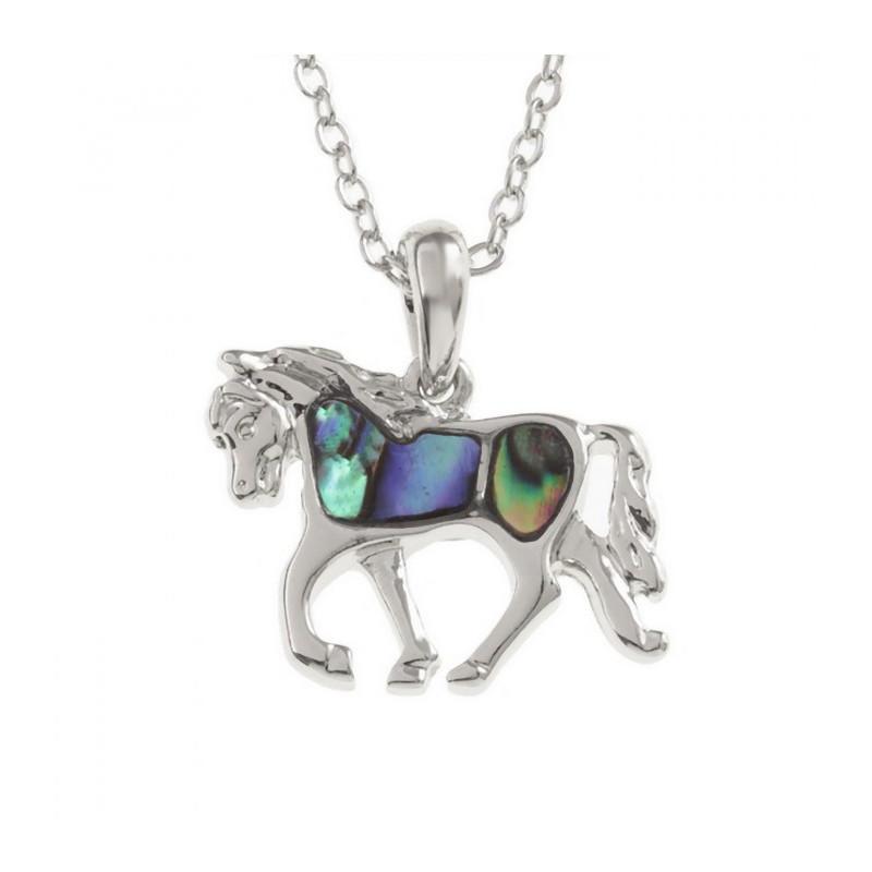 Collana Cavallo Conchiglia di Paua