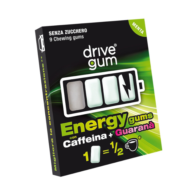 drivegum il chewing gum energetico