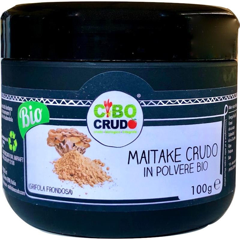 Cibocrudo Maitake crudo in polvere bio