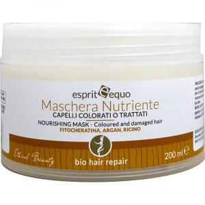 Maschera Nutriente Bio Capelli Colorati o Trattati