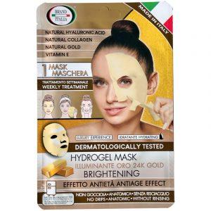 Maschera Illuminante Oro 24K