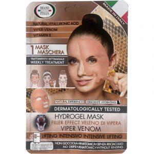Maschera Hydrogel filler effect veleno di vipera