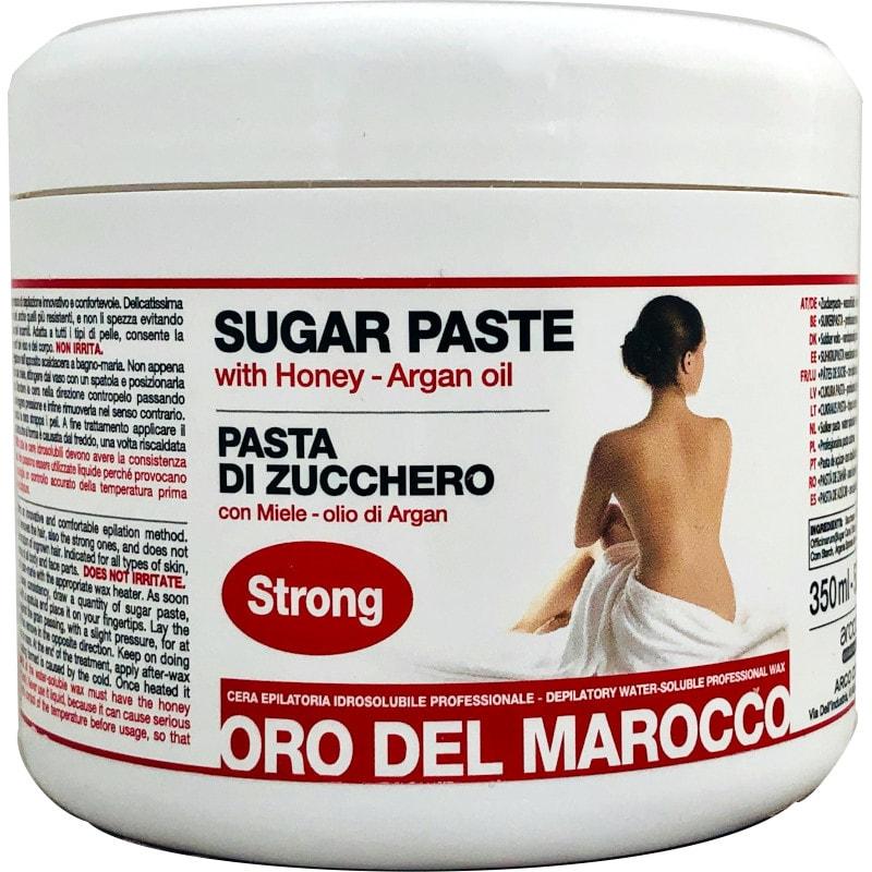 Oro del Marocco pasta di zucchero strong