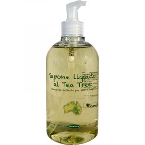 Sapone Liquido con Tea Tree oil Biomeda