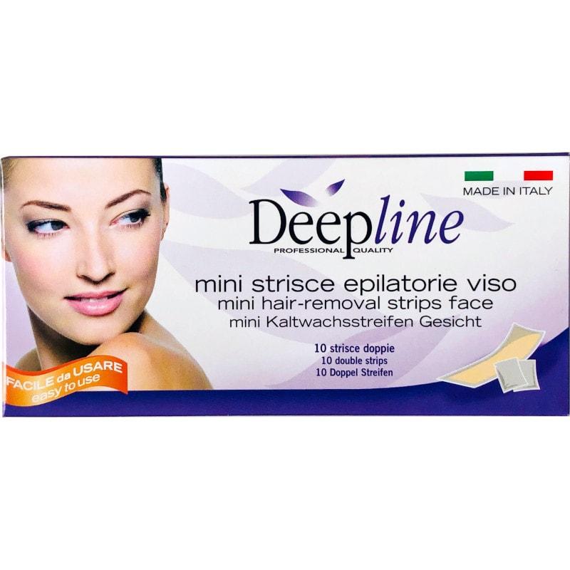 Mini strisce epilatorie viso Deepline Arco Cosmetici