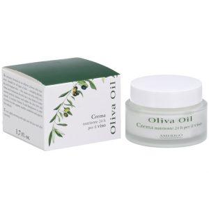 Crema Viso Nutriente 24 H Olio di Oliva