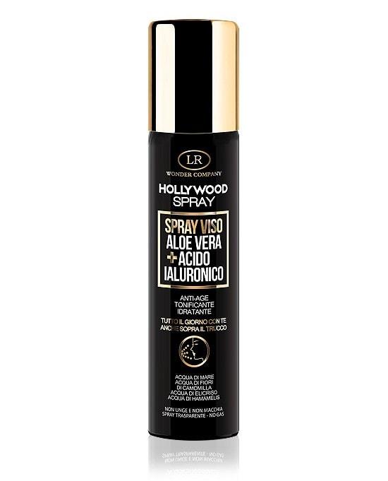 Hollywood spray con Aloe vera e acido ialuronico