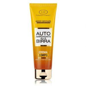 Auto Abbronzante alla Birra crema corpo LR Wonder Company