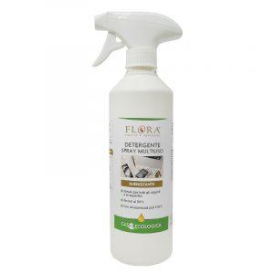 Flora detergente spray multiuso igienizzante