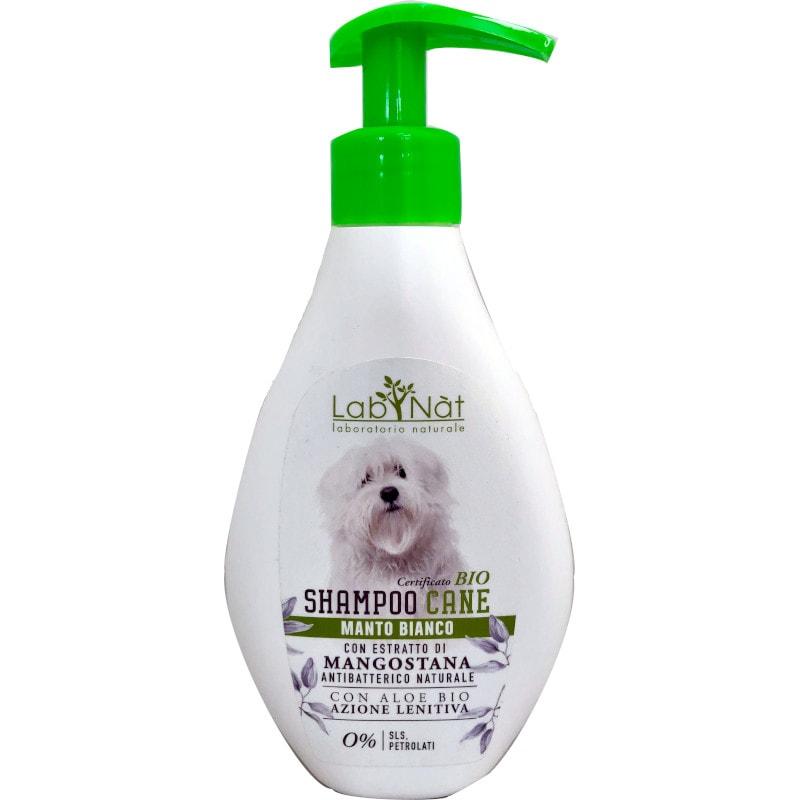 Shampoo Cane Manti Bianco Lab Nat