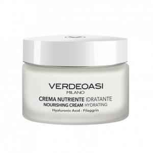 Verdeoasi Hydration crema nutriente idratante con acido ialuronico filaggrina