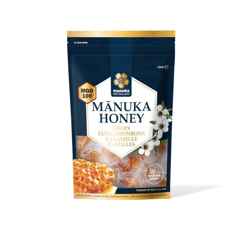 Caramelle con miele di Manuka MGO 100 e isomalto Manuka New Zealand