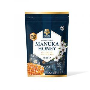 bustine miele di Manuka MGO 100 Manuka New Zealand