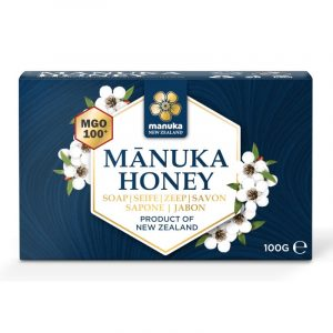 Sapone con miele di Manuka MGO100 ed essenza di miele di Manuka