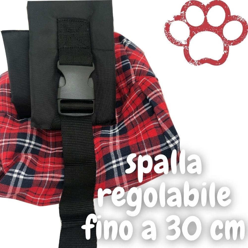 shoulder bag cani e gatti