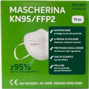 Mascherine FPP2 scatola da 10