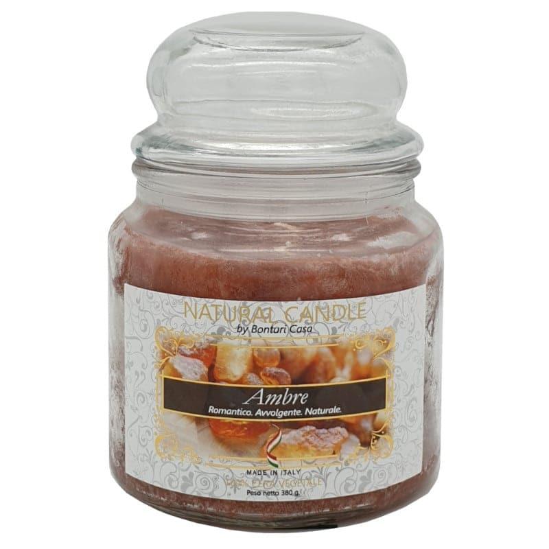 Natur Candle fragranza Ambre 380 grammi