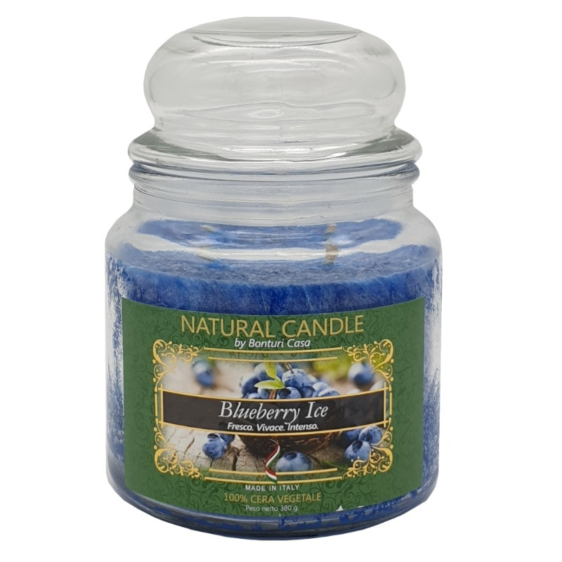 Nature Candle aroma Blueberry Ice 380 grammi