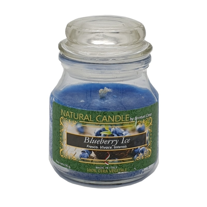 Nature Candle aroma Blueberry ice 90 grammi