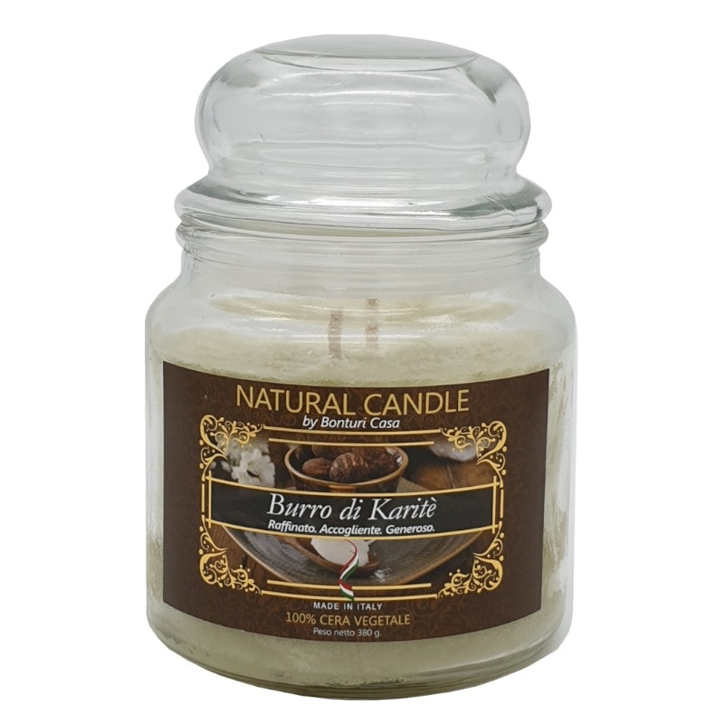 Nature Candle profumo Burro di Karitè