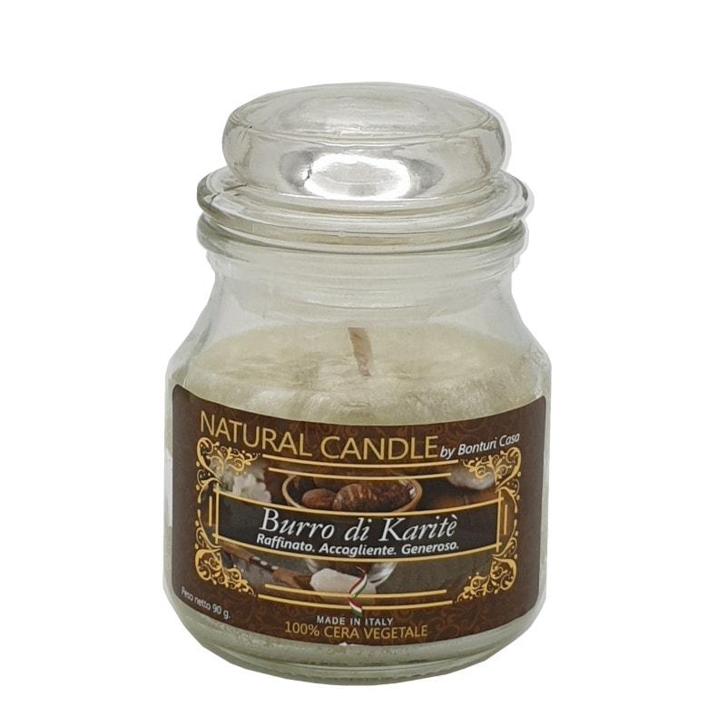 Candela Nature Candle fragramza naturale Burro di Karitè