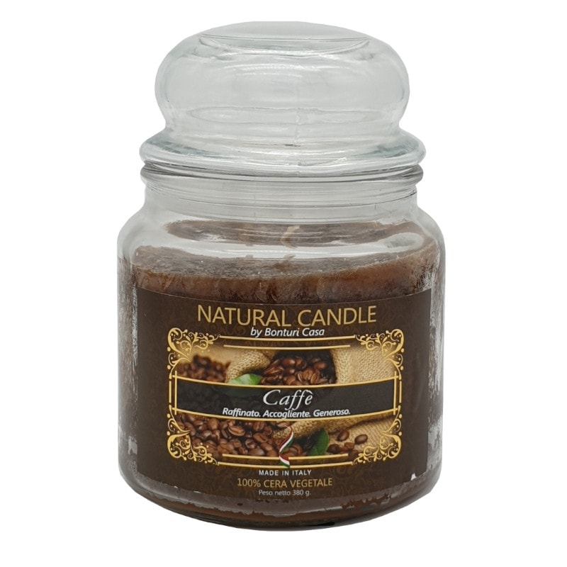 Nature Candle aroma caffè 380 grammi