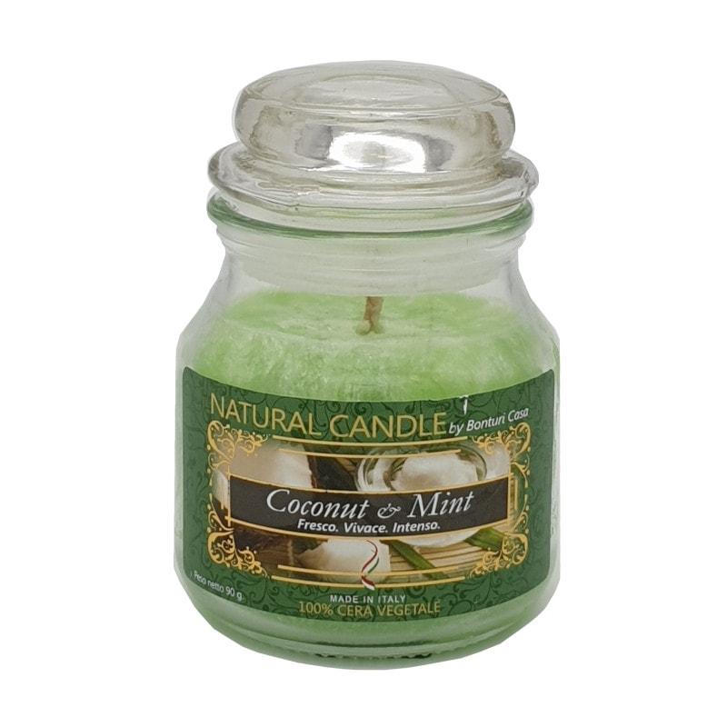 Nature Candle aroma Coconut & Milk 90 grammi