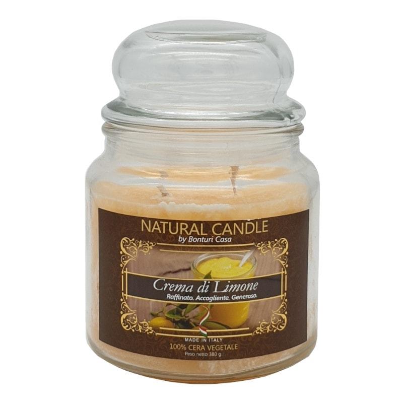 Nature Candle aroma Crema di Limone da 380 grammi